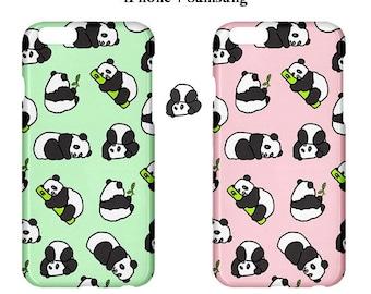 Panda iphone case,panda,case,cute,pink,case,mint,green,animal,5s,iphone 6,animal lover,kawaii,iphone 7,iphone cases,iphone covers,iphone 7
