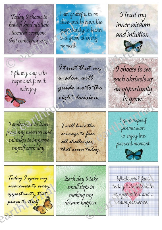 items similar to motivational quote cards inspirational