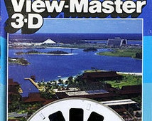 View-Master 3 Reel Set Vacation Kingdom - Walt Disney World 3-pk Reels 1980s Toy Viewmaster