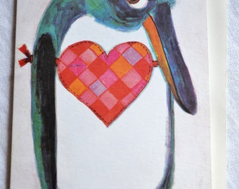 Vintage Greeting Card - Gordon Fraser Sorry Penguin Unused