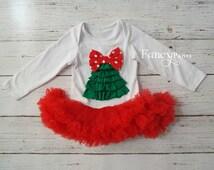 SALE!!!Baby Christmas Dress, Baby girl Christmas outfit, Christmas tutu dress, tutu dress, girl christmas dress, baby girl 1st Christmas