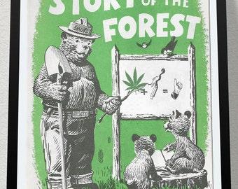 how to draw smokey the bear