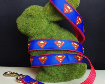 Dog Leash - Superman