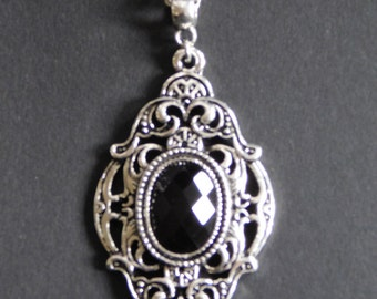 Gothic- Victorian Pendant Necklace
