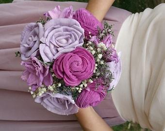 Small Sola Flower Bouquet