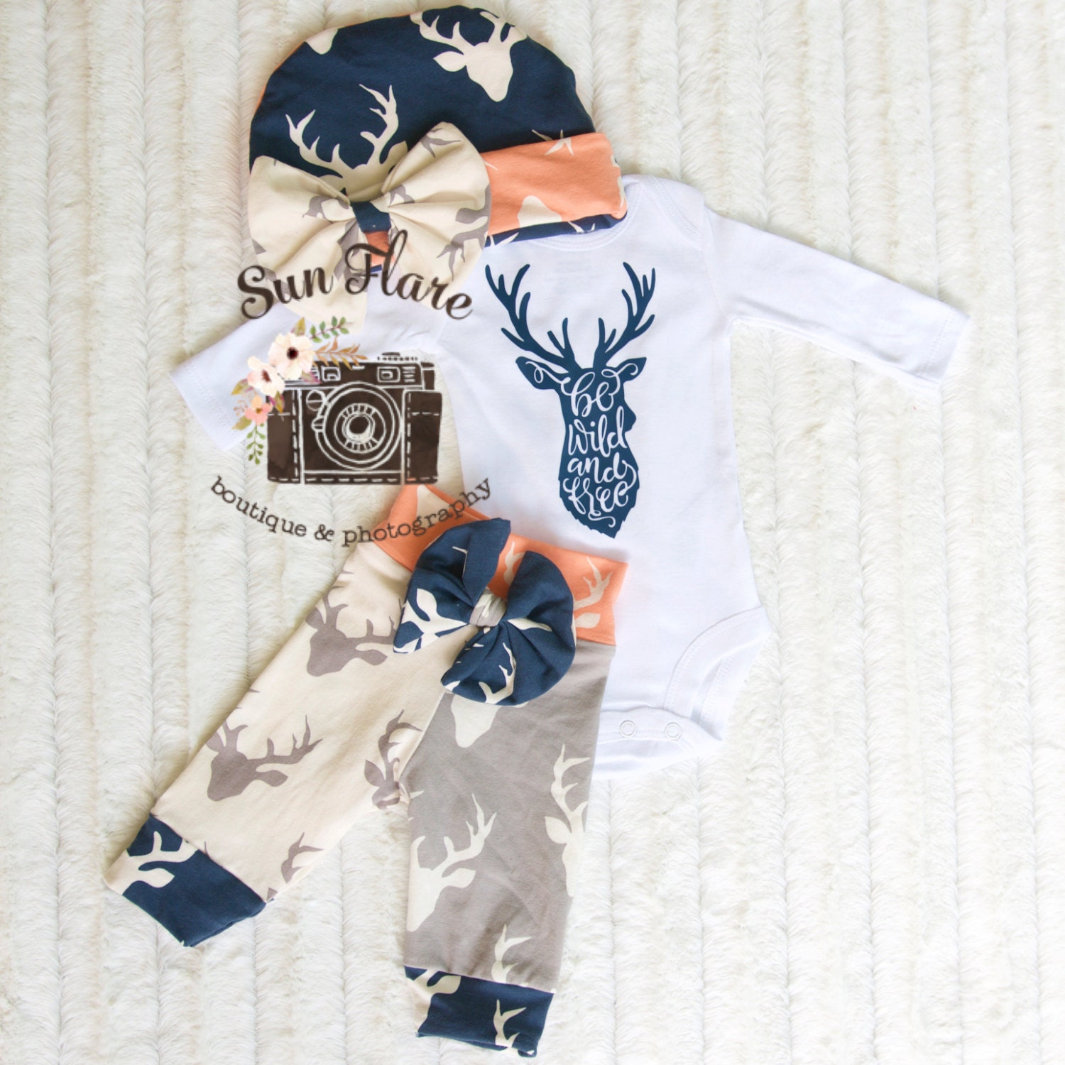 Baby girl ing home outfit take home outfit camo baby