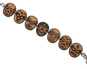 Luchador Masks Bracelet