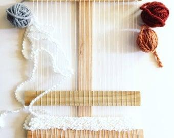 Ultimate DIY Wood Weaving Loom Kit, Large Loom