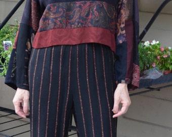 Size 10 DONNA JESSICA Two Piece  Pantsuit