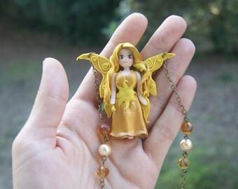 Sun Fairy necklace