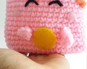 Light pink coin purse, cute pink coin purse
