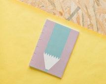 Handmade notebook | colour pencil design
