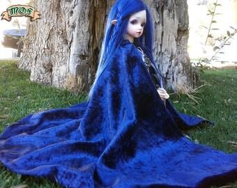 MSD BJD Velvet Cloaks