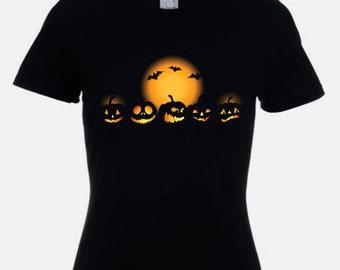 Halloween Pumpkins Fancy Dress Women's T-Shirt