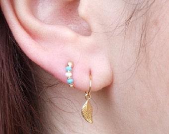 Set of 3 Small Gold Hoop Earrings, Set of 3 Earrings, Gold Hoop Earrings, Small Hoop Earrings, Gold Hoops, Gold Earrings, Hoop Earrings
