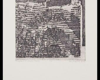 Fragment of Sonder Part 4 - Fine Art Intaglio Print