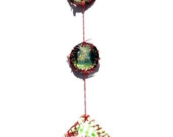 Paper Wall Hanging - Alien Baby Pod