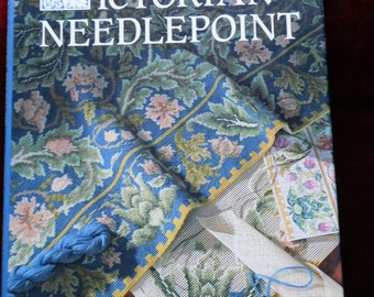 Vintage Book: Victorian Needlepoint Book by Beth Russell 1989