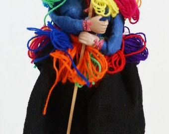 Peru Female Cloth Doll