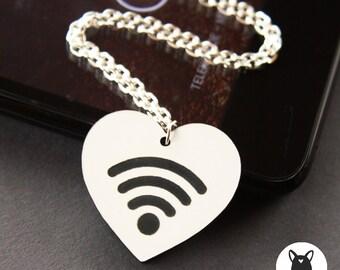 WiFi love necklace