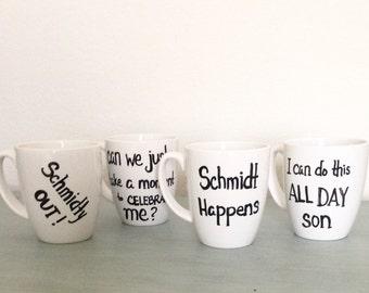 New Girl Schmidt Classic Quotes Mug