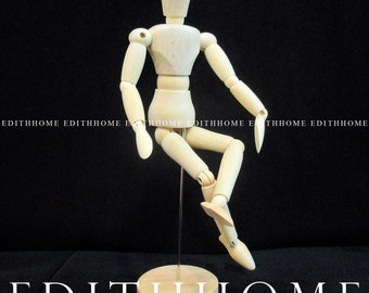 Artist's Model Figure for Sketch Drawing Painting Art Wood Human Puppet