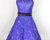 SAILOR SATURN Zodiac Constellation Dress - Made to Order