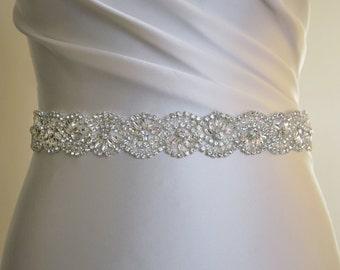 Bridal belt,bead belt, bridal sash, wedding dress belt, diamante belt,wedding belt, rhinestone belt, wedding dress belts, beaded belt, bling