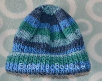 Baby Beanie Hat, Size 0-3 Months,
