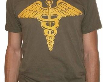 Cameron's Caduceus Shirt - Ferris Bueller's Day Off - Screenprint T Shirt