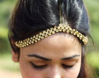 Gold delight head chain