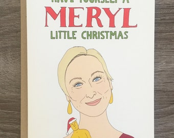 Mery-little Christmas - Funny Christmas Card - Pop Culture Christmas Card - Merry Christmas - Funny Holiday Card