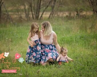 Mommy and Me Dress SET Custom Made