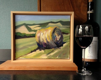 Oil-painting hayroll