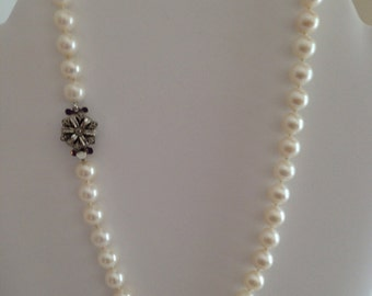 Pearl Necklace, genuine freshwater pearls