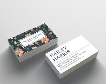 Business Card Template 06 - 2 Sided Business Card Design