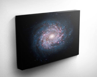 Milky Way Solar System Print - Galaxy Print Art, Original Galaxy Art, Galaxy Decor - Outer Space Pictures, Outer Space Decor, space art