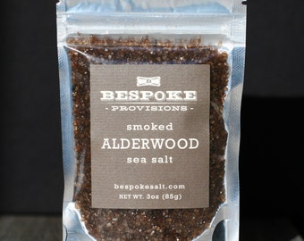 Smoked Alderwood Sea Salt - pack size
