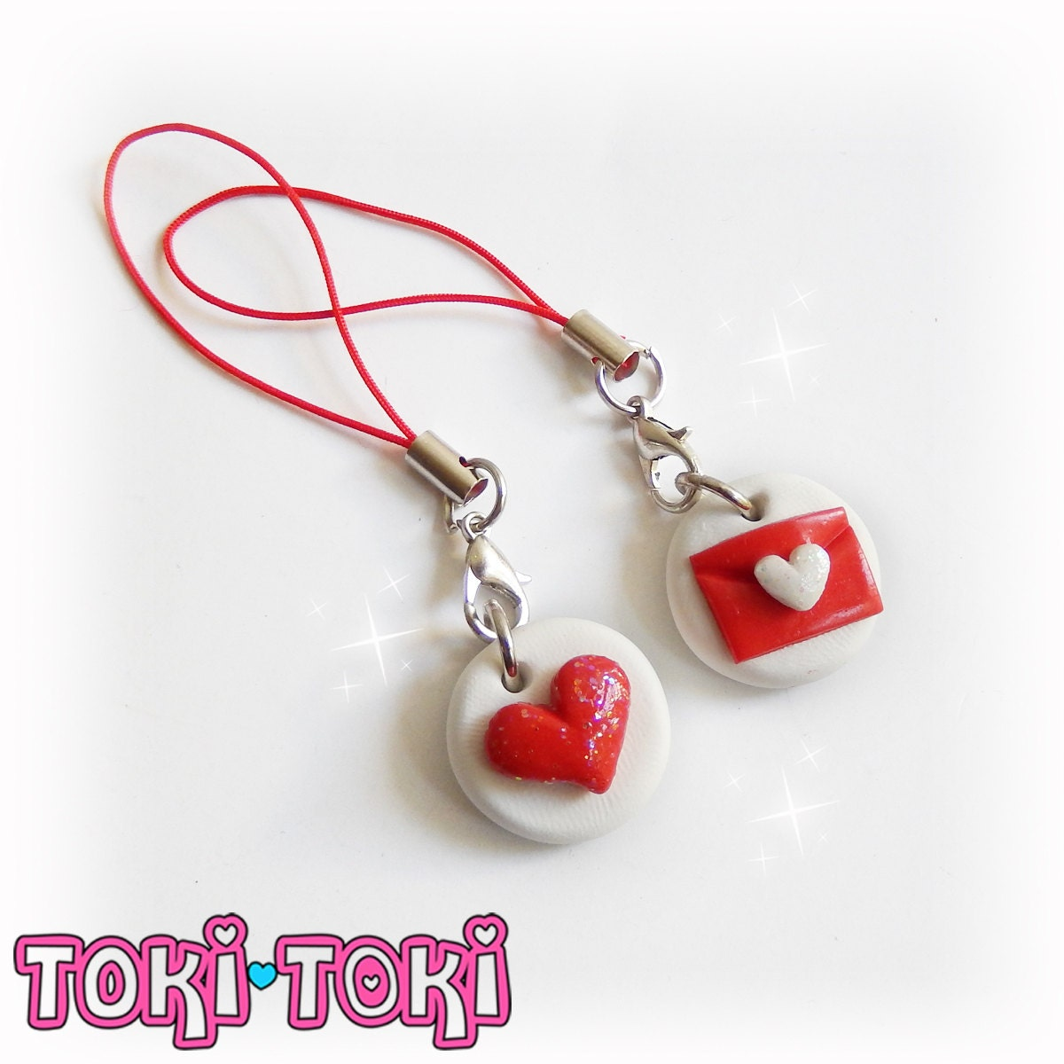 charms bestfriends charms bff charms polymer clay