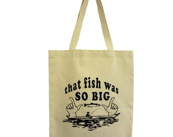 Tote bag fish fair cotton bag, Hindbag