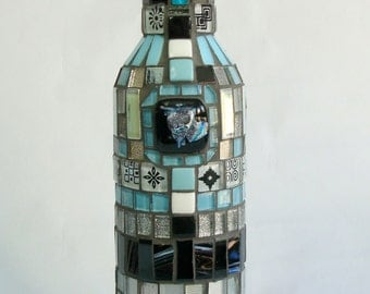 Mosaic Bottle Winter