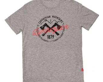 Carpathian lumberjack's T-shirt