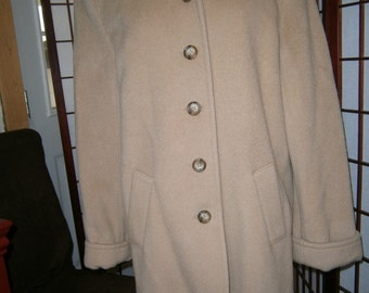 Women's Camel Colored Jacket