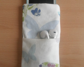 Butterfly iPod Sleeve with Pocket