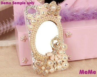 1 Set Deco Kit Bling Alloy Ballet Girl Flowers Rhinestones Accessories Cabochon Deco Den on Craft Cell Phone Case DIY Deco kit DD3354