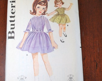 5-Child's sewing patterns lot of 5 Butterich/Simplicity
