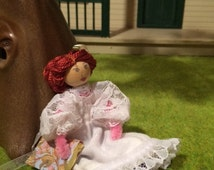Anne of Green Gables Pipe Cleaner Doll