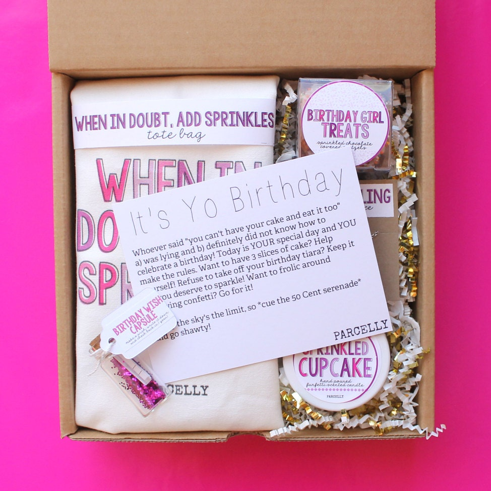 Best Friend Gift Funny Sign Birthday Present Friendship Gift: Best Friend Birthday Gift. Birthday Gift Basket. Birthday Box