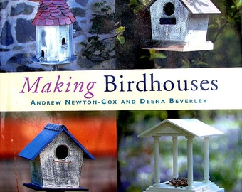CRAFT BOOKS*//Making Birdhouses// Collection of Original Designs of Feeding Tablets,Birdbaths, Birdnests,Step-by-Step Instructions//On SALE!