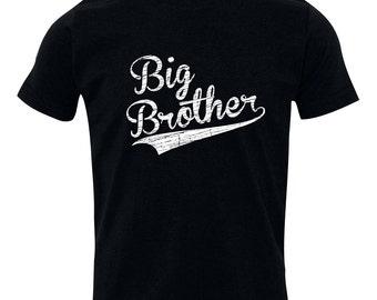 Big Brother Shirt, Big Brothers Baseball shirt - Brothers sibling shirt, BIG Brother T-Shirt, Sibling Shirts, BBSib